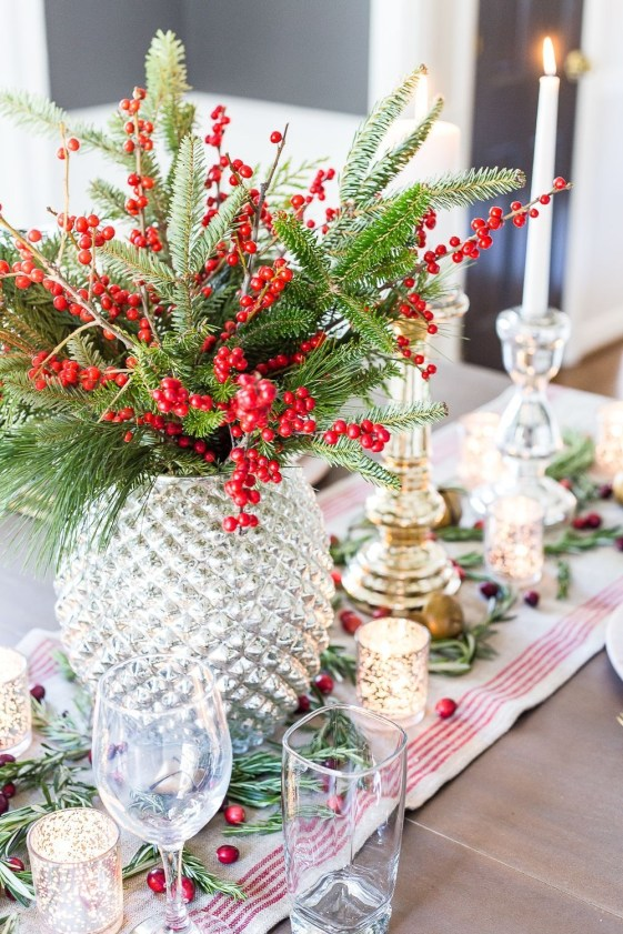 Tips To Make DIY Christmas Table Decorations 49