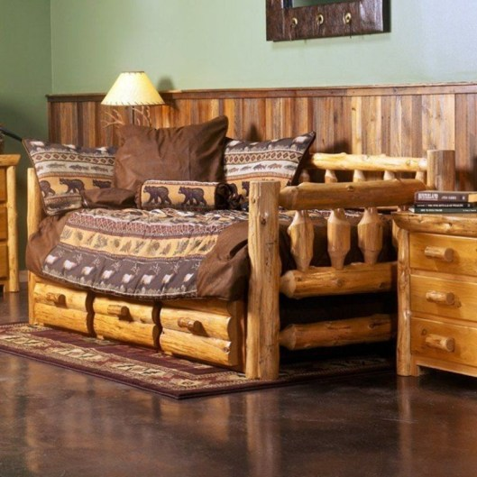 Ways To Upgrade Your House With Rustic Furniture Ideas 05