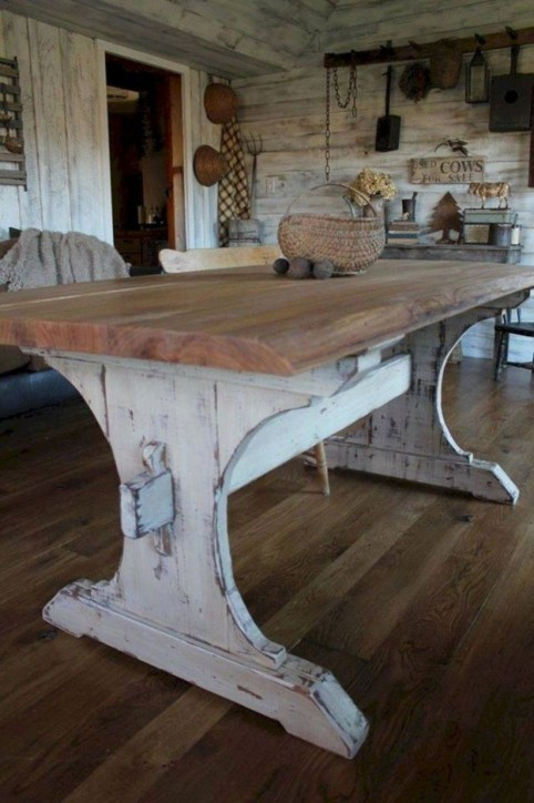 Ways To Upgrade Your House With Rustic Furniture Ideas 24