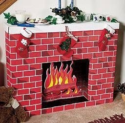 Winter Fireplace Decoration Ideas 11