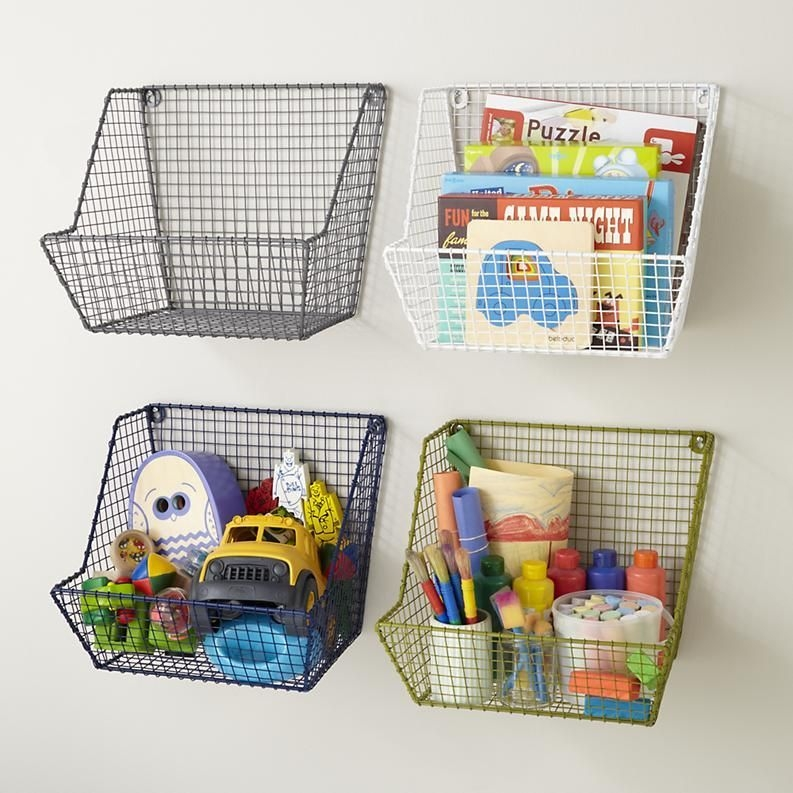 Wire Basket Ideas You Can Make For Storage 01