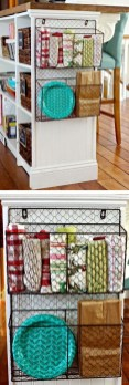 Wire Basket Ideas You Can Make For Storage 37