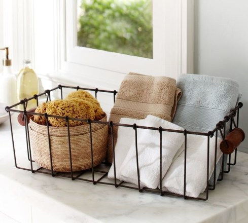 Wire Basket Ideas You Can Make For Storage 41