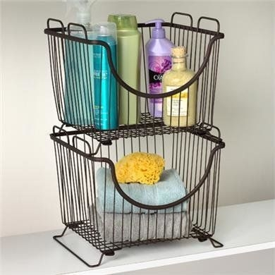 Wire Basket Ideas You Can Make For Storage 59