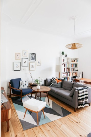 Awesome Scandinavian Style Interior Apartment Decoration 03