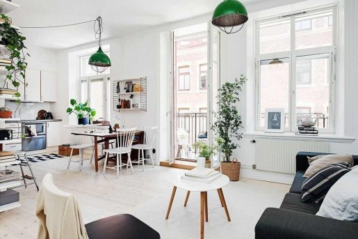 Awesome Scandinavian Style Interior Apartment Decoration 05