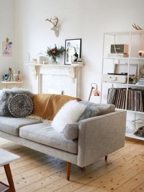 Awesome Scandinavian Style Interior Apartment Decoration 32