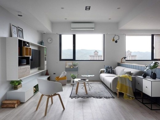 Awesome Scandinavian Style Interior Apartment Decoration 35