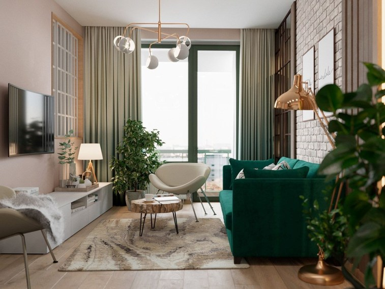 Awesome Scandinavian Style Interior Apartment Decoration 38