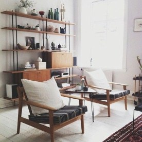 Awesome Scandinavian Style Interior Apartment Decoration 40