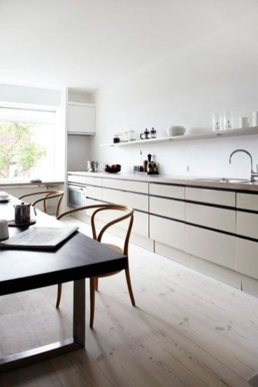 Awesome Scandinavian Style Interior Apartment Decoration 53
