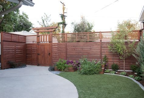 Amazing House Fence You Can Build In Your Garden 12