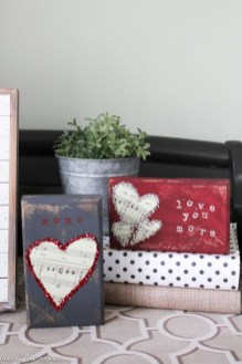 Best DIY Rustic Decoration Idea For Valentine Party 05