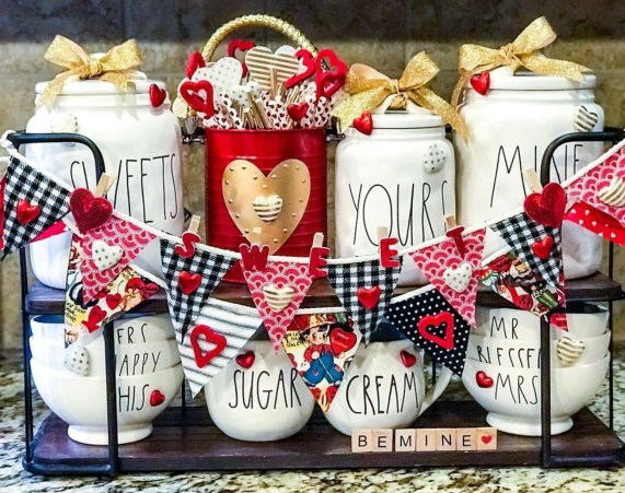 Best DIY Rustic Decoration Idea For Valentine Party 10