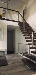 Best And Elegant Wooden Stairs In Your House 05