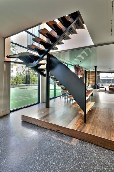 Best And Elegant Wooden Stairs In Your House 15