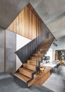 Best And Elegant Wooden Stairs In Your House 21