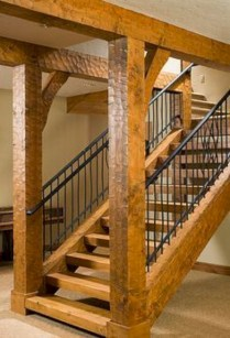 Best And Elegant Wooden Stairs In Your House 28