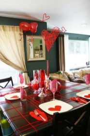 Romantic Table Decoration For Valentine's 10