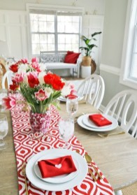 Romantic Table Decoration For Valentine's 11