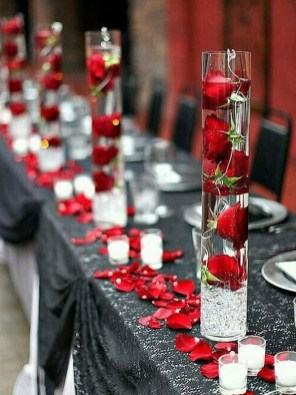 Romantic Table Decoration For Valentine's 14