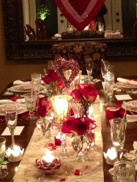 Romantic Table Decoration For Valentine's 30
