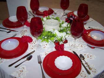 Romantic Table Decoration For Valentine's 31