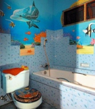 Stunning Colorful Bathroom Decoration For Your Kids 02