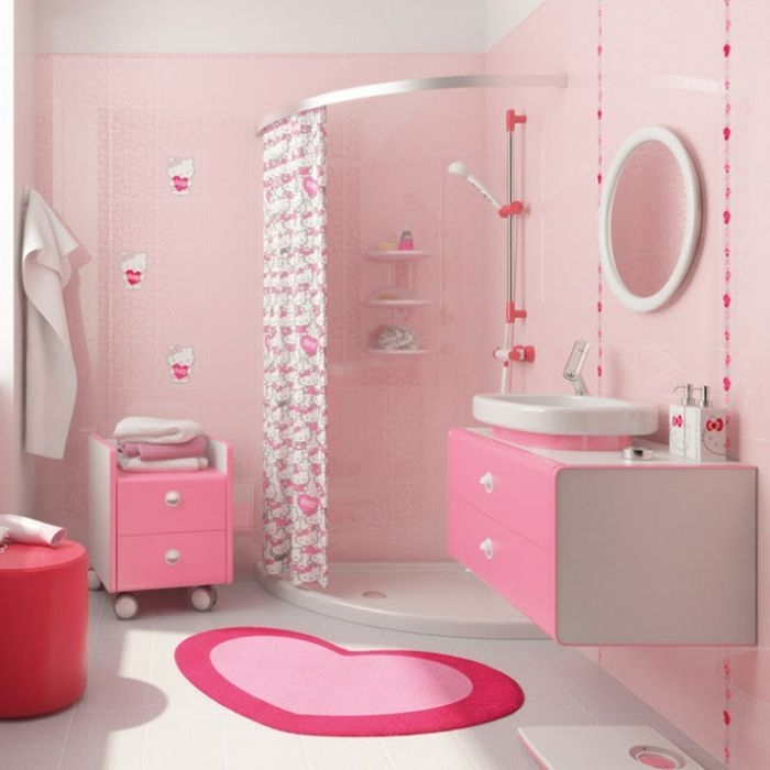 Stunning Colorful Bathroom Decoration For Your Kids 13