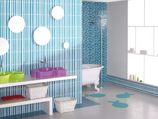 Stunning Colorful Bathroom Decoration For Your Kids 17