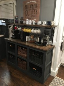 Amazing Diy Coffee Station Idea In Your Kitchen 05