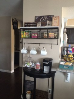 Amazing Diy Coffee Station Idea In Your Kitchen 12