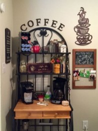 Amazing Diy Coffee Station Idea In Your Kitchen 14