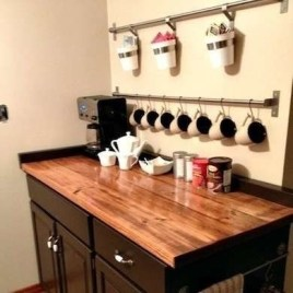 Amazing Diy Coffee Station Idea In Your Kitchen 23