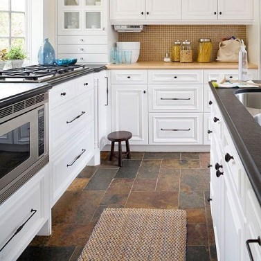 Awesome Kitchen Floor To Design Your Creativity 32