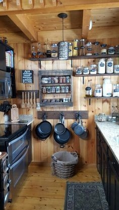 More Creative Diy Rustic Kitchen Decoration Idea For Small Space 08