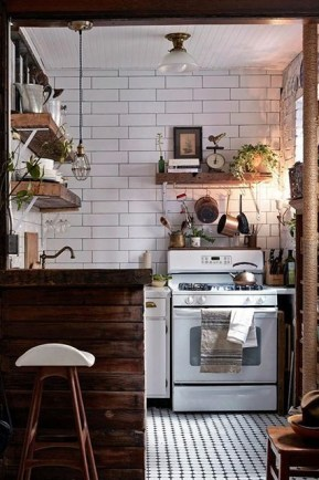 More Creative Diy Rustic Kitchen Decoration Idea For Small Space 09