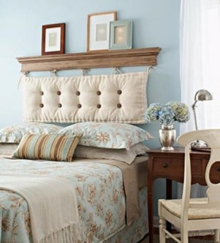 Cheap And Easy DIY Headboard For Your Bedroom 11