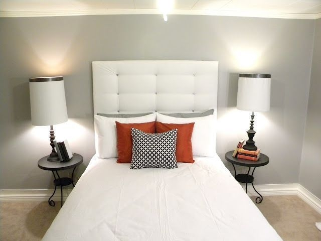 Cheap And Easy DIY Headboard For Your Bedroom 12