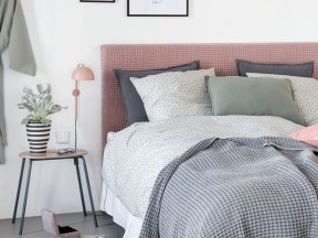 Cheap And Easy DIY Headboard For Your Bedroom 26