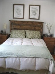 Cheap And Easy DIY Headboard For Your Bedroom 28
