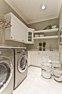 Contemporary Laundry Room Decor Ideas You Can Try For Your House 34