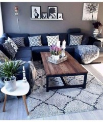 Cozy And Simple Rug Idea For Small Living Room 04