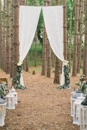 Create Beautiful Outdoor Wedding Decoration You Will Love 22