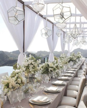Create Beautiful Outdoor Wedding Decoration You Will Love 32