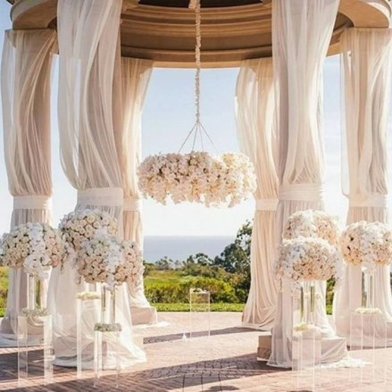 Create Beautiful Outdoor Wedding Decoration You Will Love 36