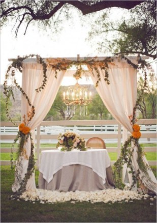 Create Beautiful Outdoor Wedding Decoration You Will Love 38