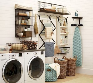 Creative And Inspiring Laundry Room Decor Idea 03