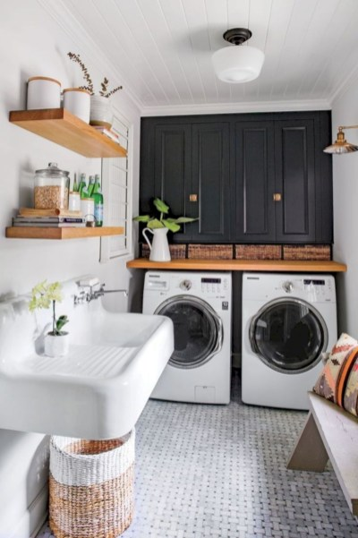 Creative And Inspiring Laundry Room Decor Idea 29