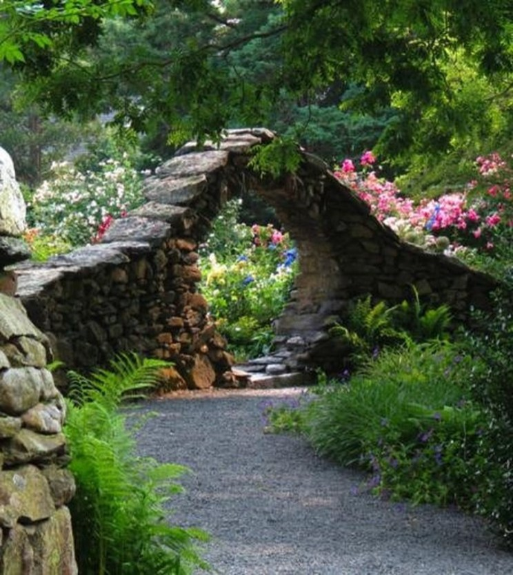 How To Grow Secret Garden Idea In Your Yard 20